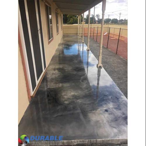 Metallic Art Epoxy Ep100 174 12l Kit Durable Concrete Coatings