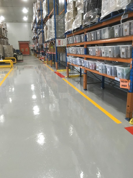 Polyaspartic Line Marking Durable Concrete Coatings